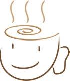 Cara del café Foto de archivo libre de regalías