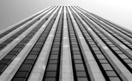 Cara del edificio Imágenes de archivo libres de regalías