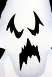 Cara del fantasma de Víspera de Todos los Santos Imagen de archivo