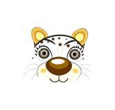 Cara del gato - ejemplo del vector Imagen de archivo