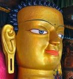 Cara del gautam buddha Fotografía de archivo libre de regalías