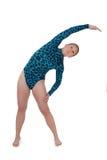 Cara del gimnasta que dobla 3 Imagen de archivo libre de regalías