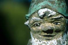 Cara del gnomo. Fotos de archivo