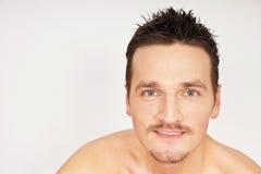Cara del hombre joven. Imágenes de archivo libres de regalías