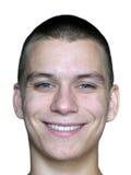 Cara del hombre sonriente Imágenes de archivo libres de regalías