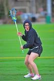 Cara del juego del lacrosse Fotos de archivo libres de regalías
