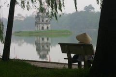 Cara del lago Foto de archivo