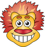 Cara del león Imagenes de archivo