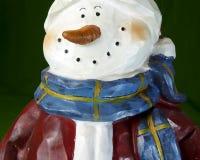Cara del muñeco de nieve Fotos de archivo libres de regalías