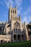 Cara del norte de la catedral nacional imagen de archivo