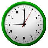 Cara del reloj analogico libre illustration