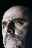 Cara del reprimenda Imagen de archivo