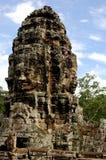 Cara del rey camboyano Fotografía de archivo