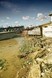 Cara del río Fotos de archivo libres de regalías