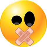 Cara del smiley del Emoticon Fotos de archivo libres de regalías