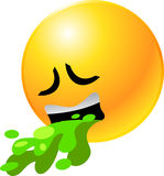 Cara del smiley del Emoticon Imagen de archivo