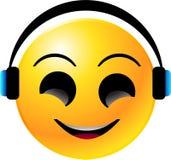 Cara del smiley del Emoticon Imagen de archivo libre de regalías