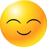 Cara del smiley del Emoticon Fotografía de archivo