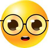Cara del smiley del Emoticon Imágenes de archivo libres de regalías