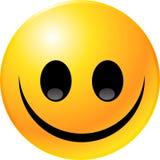 Cara del smiley del Emoticon Foto de archivo