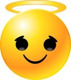 Cara del smiley del Emoticon stock de ilustración