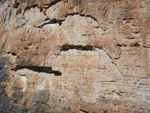 Cara del sur grande de wall que sube tofana di rozes imágenes de archivo libres de regalías