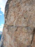 Cara del sur grande de wall que sube tofana di rozes foto de archivo libre de regalías
