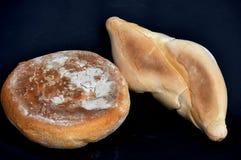 Cara del sur, pan y bollo Foto de archivo