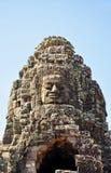 Cara del templo de Bayon Fotos de archivo libres de regalías