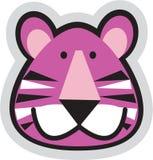 Cara del tigre ilustración del vector