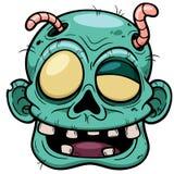 Cara del zombi Imágenes de archivo libres de regalías