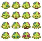 Cara del zombi libre illustration