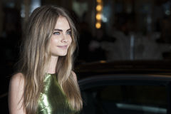 Cara Delevigne Royalty Free Stock Images