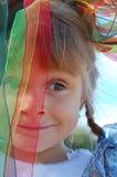 Cara divertida del carnaval del niño fotos de archivo libres de regalías