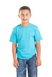 Cara divertida del muchacho Foto de archivo libre de regalías