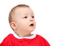 Cara do bebê Fotos de Stock