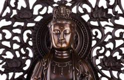 A cara do Bodhisattva Guan Yin Fotografia de Stock Royalty Free