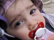 Cara do close up da criança pequena Imagens de Stock Royalty Free