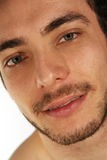 Cara do close up Modelo considerável do homem imagens de stock royalty free