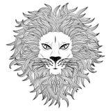 Cara do leão Fotos de Stock Royalty Free