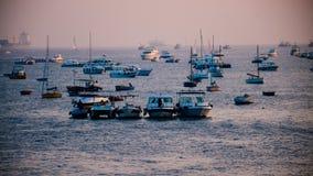 Cara do mar da entrada da Índia foto de stock