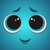 Cara do monstro dos desenhos animados Fotografia de Stock