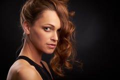 Cara fêmea com pele natural Imagens de Stock