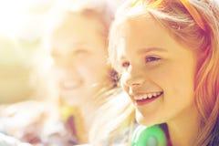 Cara feliz del adolescente Fotos de archivo libres de regalías