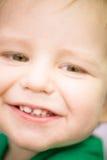 Cara feliz del bebé Fotografía de archivo libre de regalías