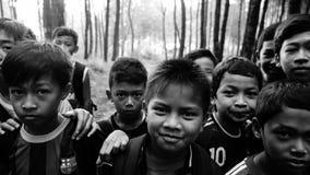 Cara futura de Indonésia Fotografia de Stock