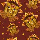 Cara geométrica del león Foto de archivo libre de regalías
