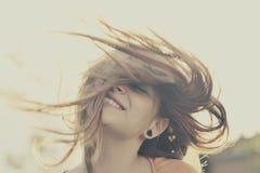 Cara hermosa de la muchacha Imagen de archivo