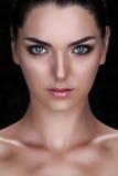 Cara hermosa de la mujer joven Imágenes de archivo libres de regalías
