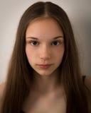Cara hermosa del adolescente Foto de archivo libre de regalías